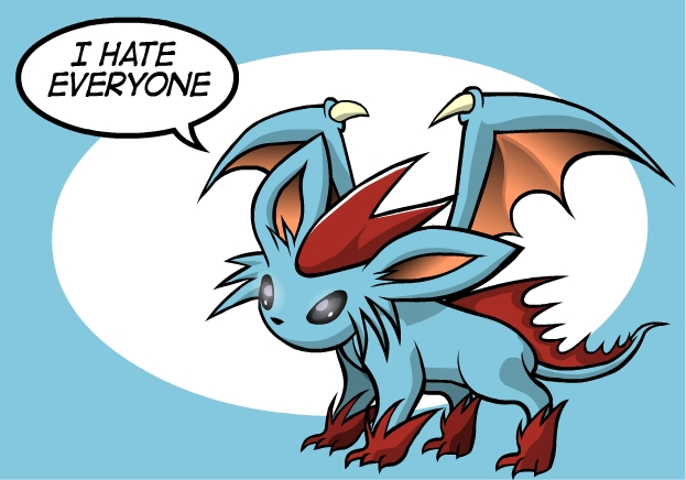Draceon hates everyone