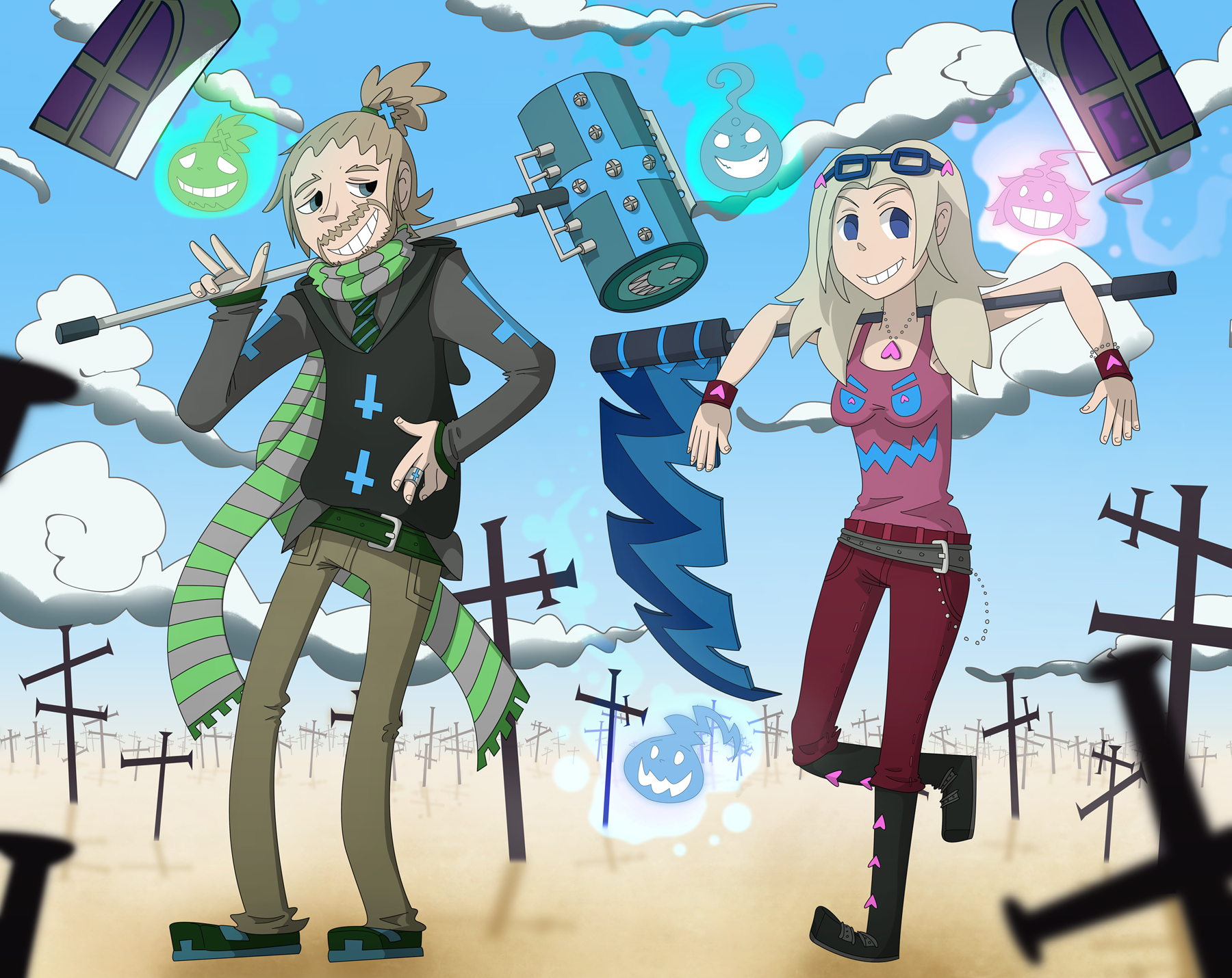 Meister n' Weapon - Soul Eater