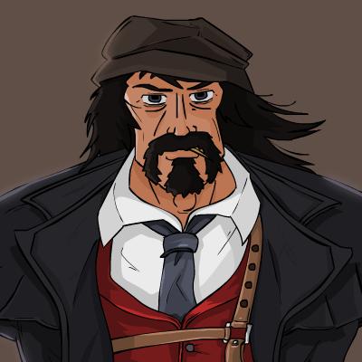 Mafia Graves Portrait