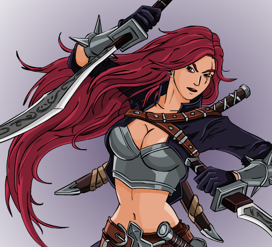 League of legends Katarina