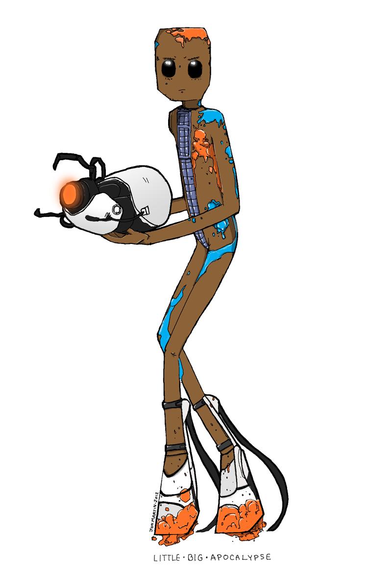 Sackboy W/Portal Gun