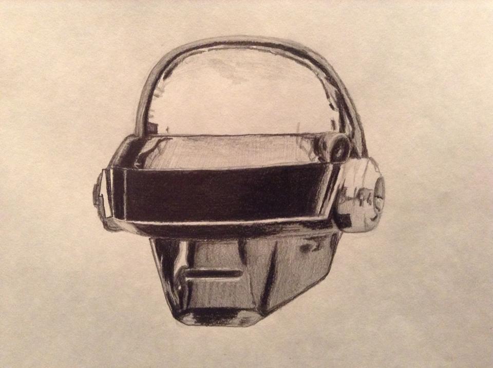 Daft Punk T Bangalter's Helmet
