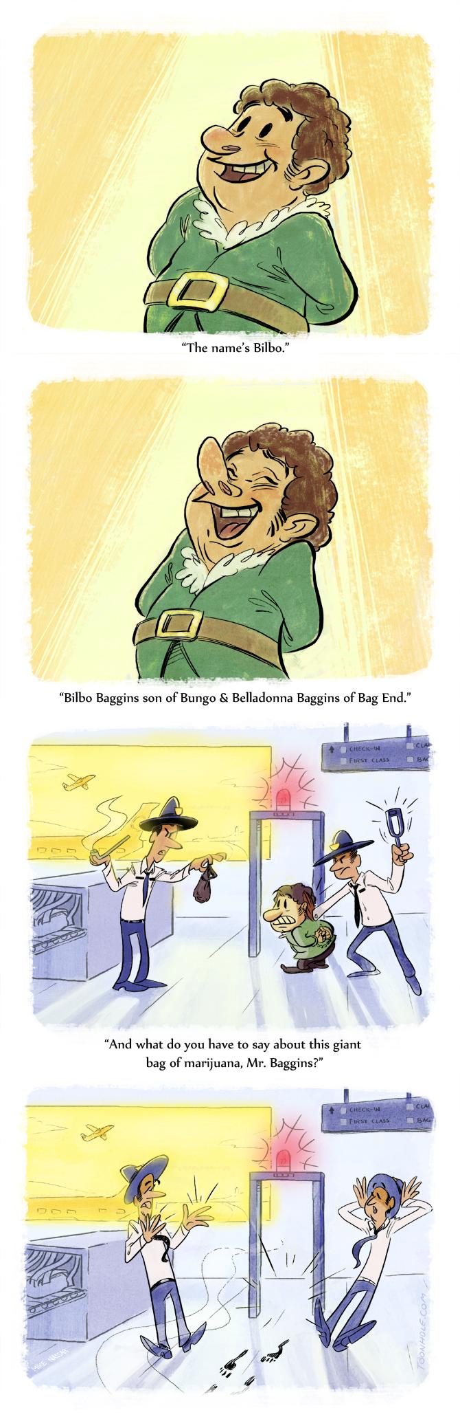 Bilbo Baggins Airport