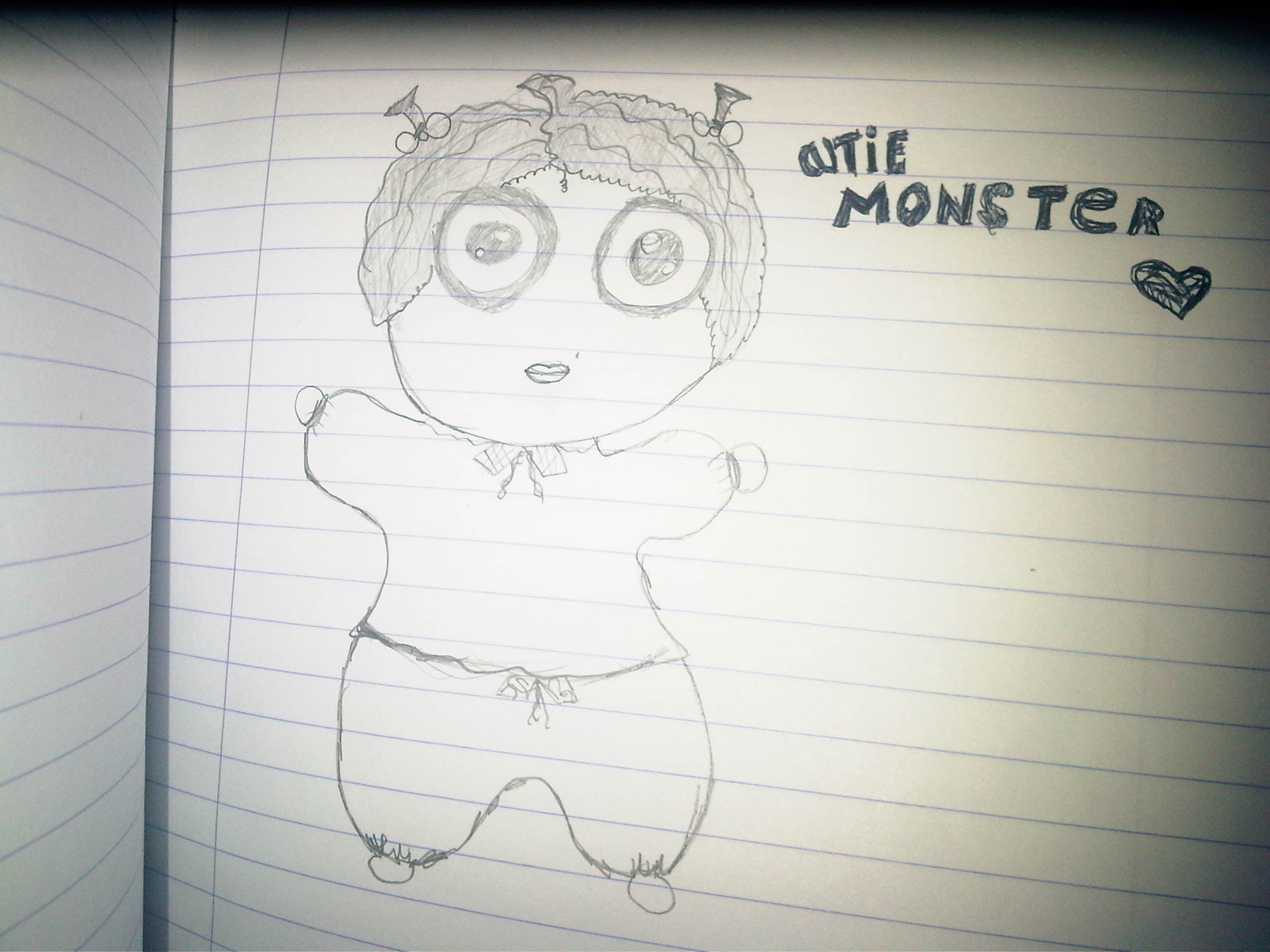 cutie monster
