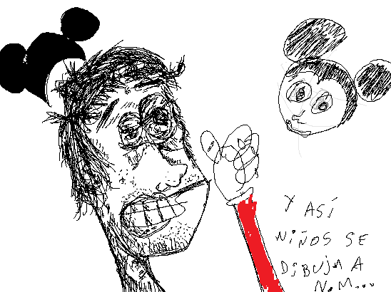 Nacho Mouse tutorial draw