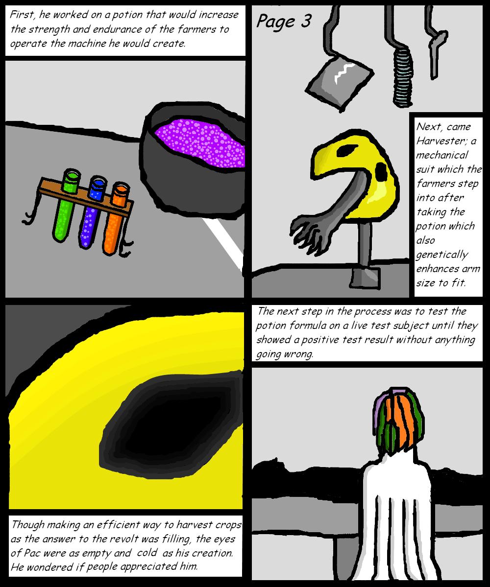 Untitled Series Page 3 (WIP)