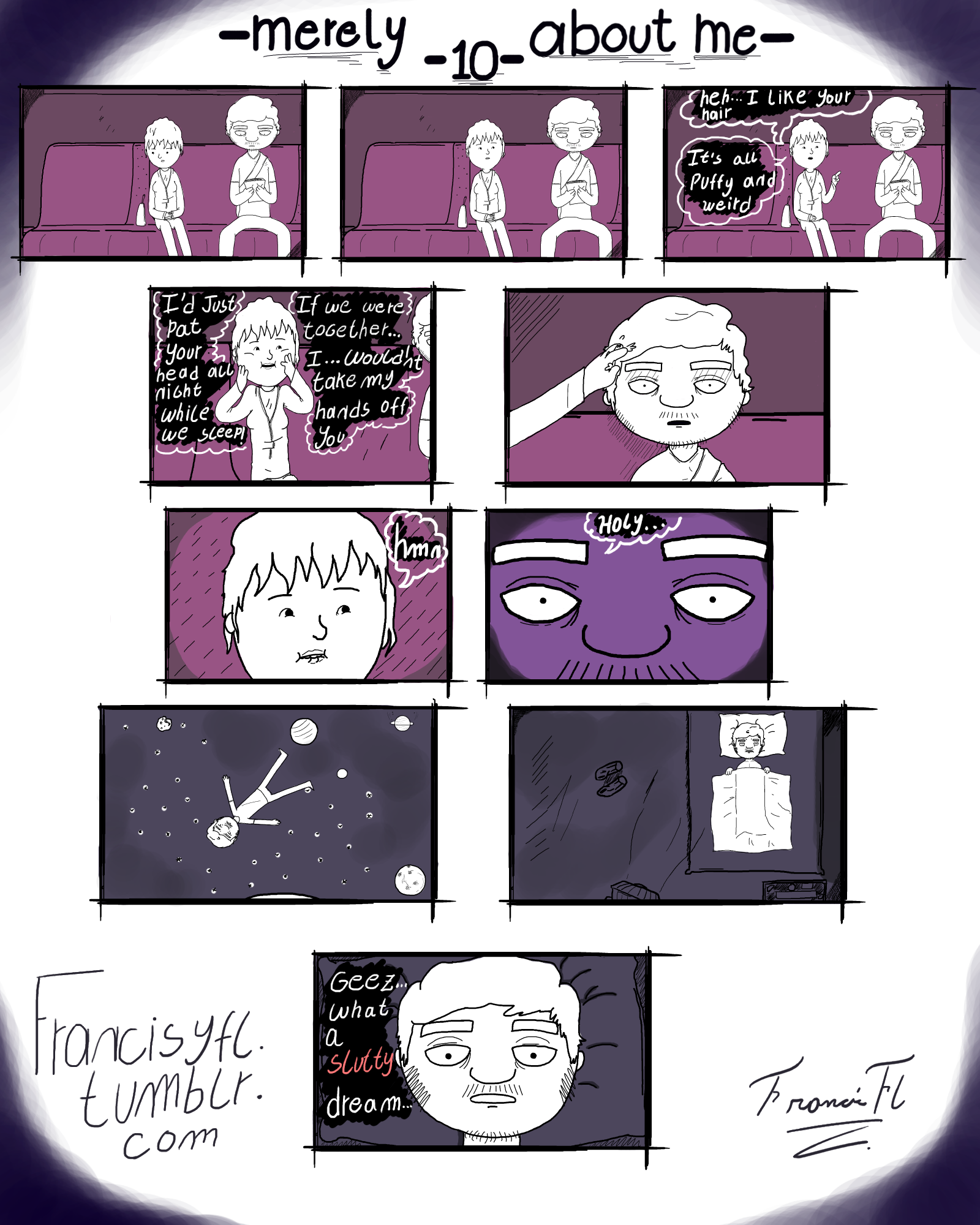 [comic]- Merely about me - 10