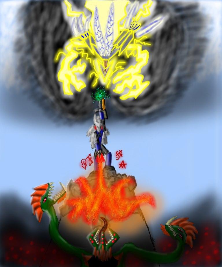 Alpha-Omega battle of titans