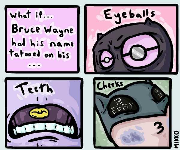 Batman with Tats