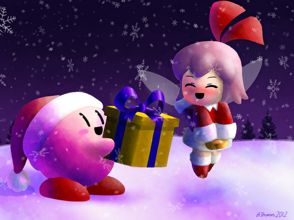 Kirby\'s Christmas Gift by Mario644 on Newgrounds