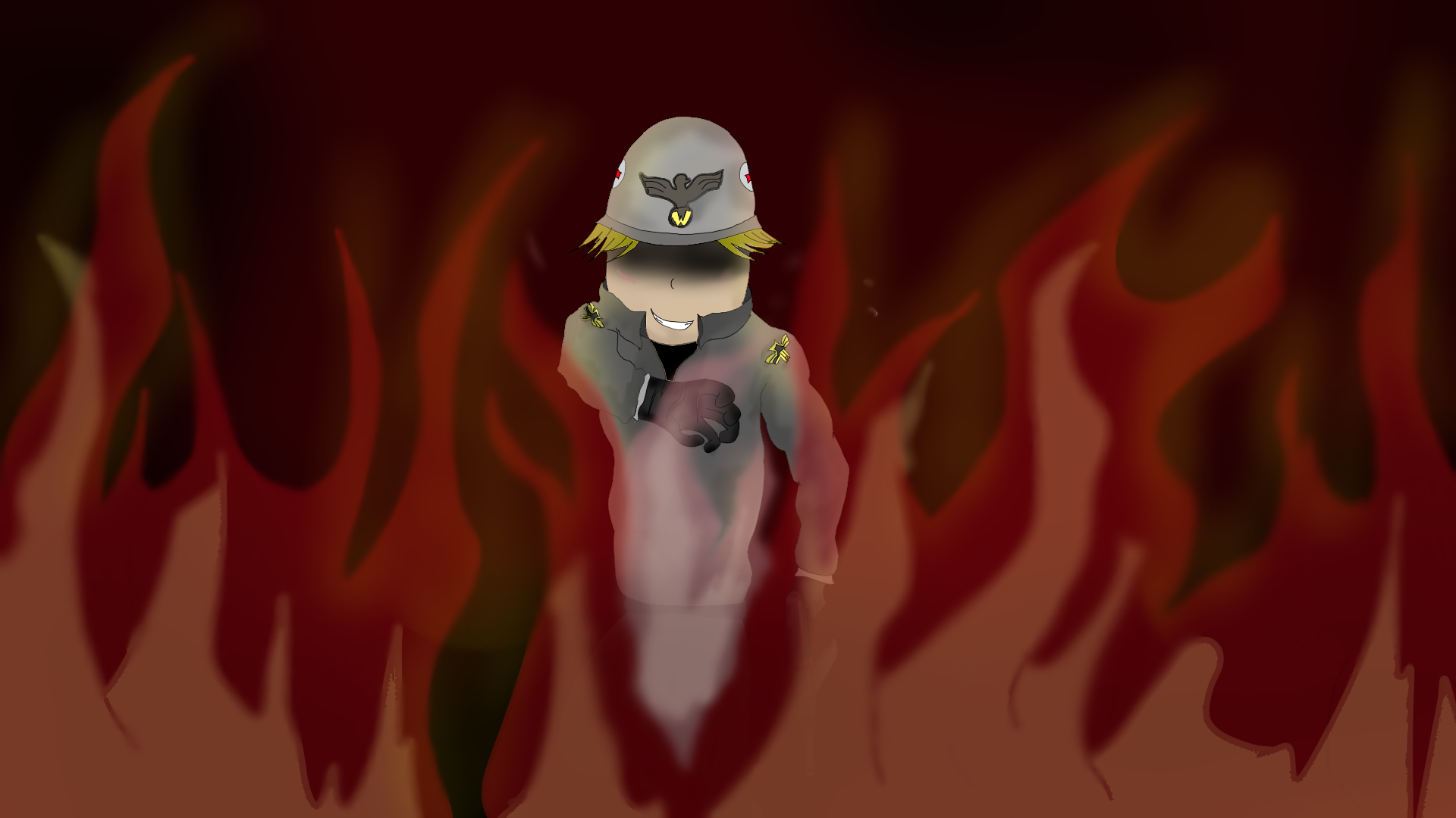 From the fire