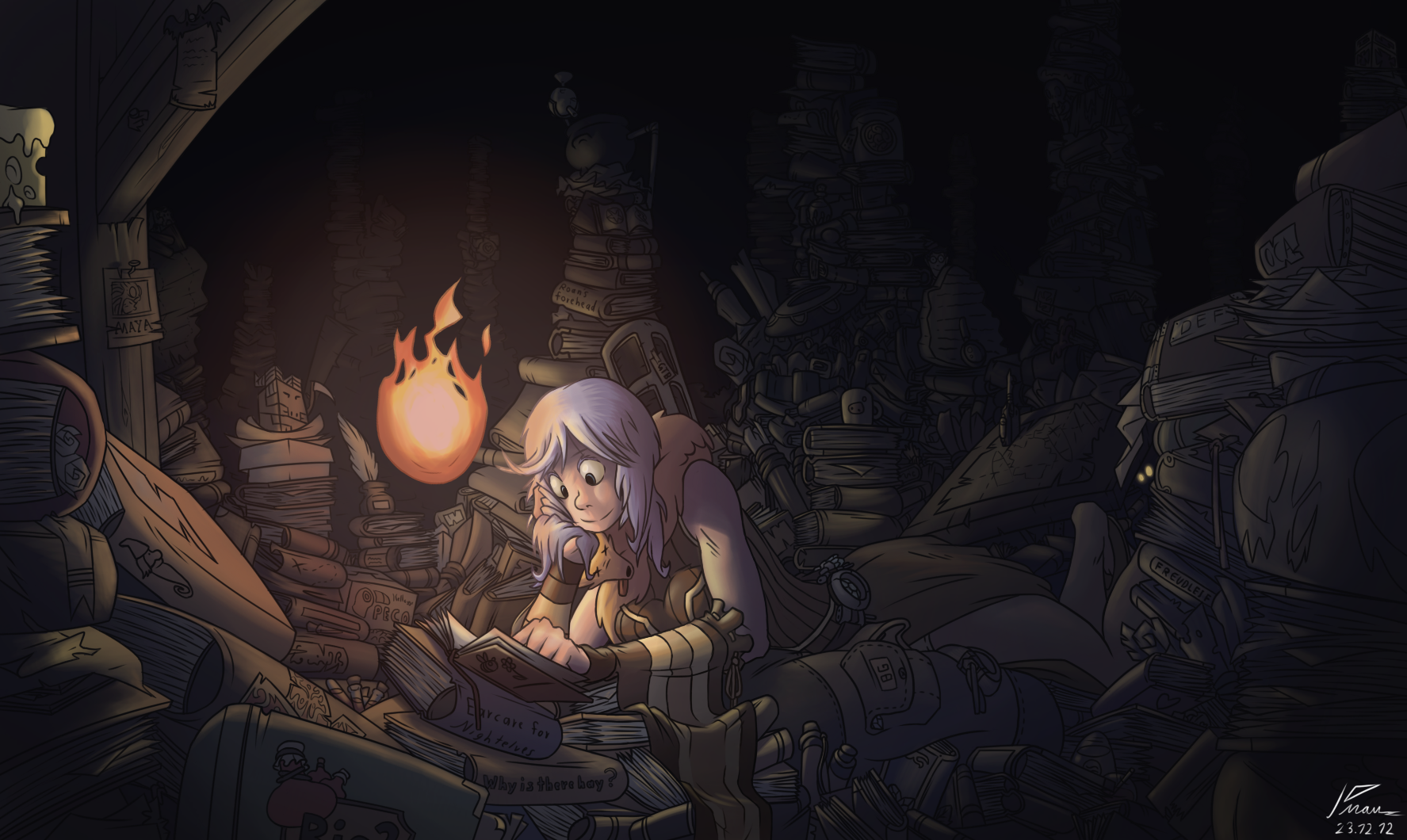 Scholar in the attic