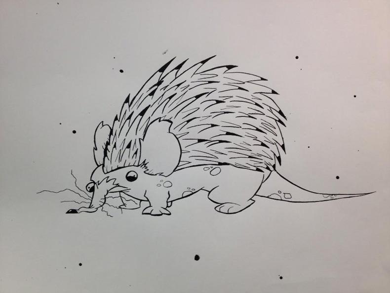 Hungover Hedgehog