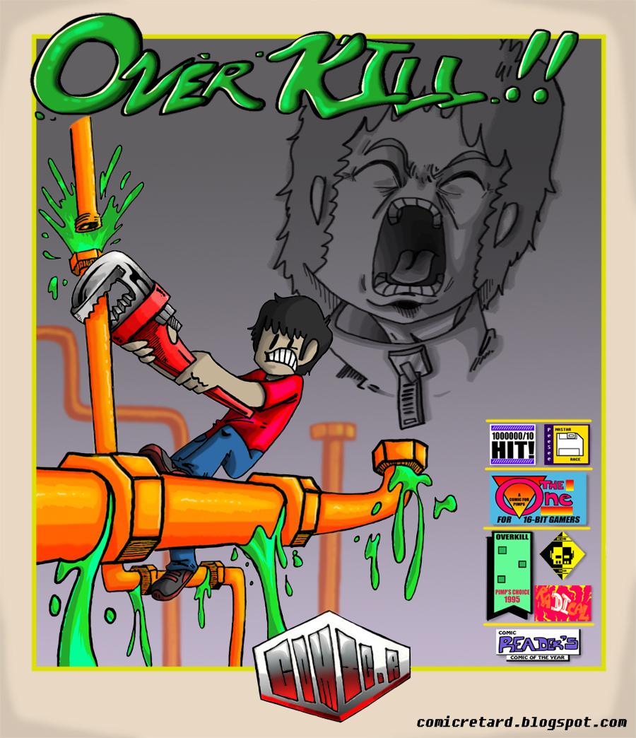OverKill Cover: Pipe Mania