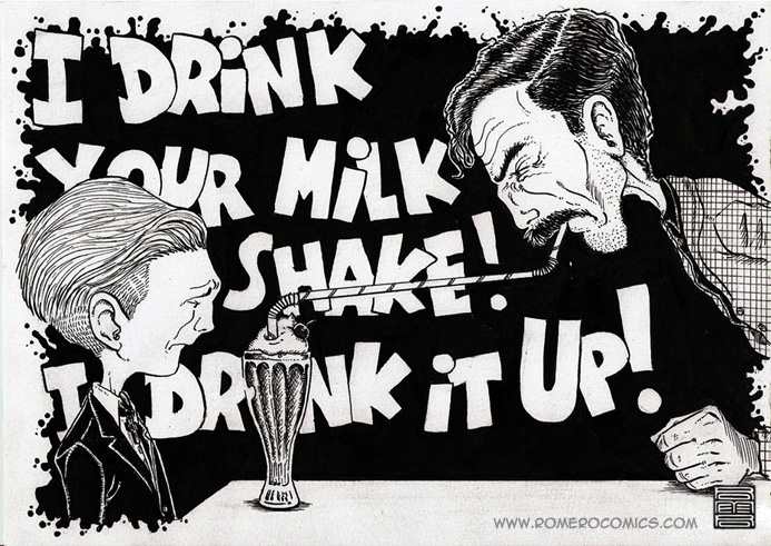 I Drink Your Milkshake!