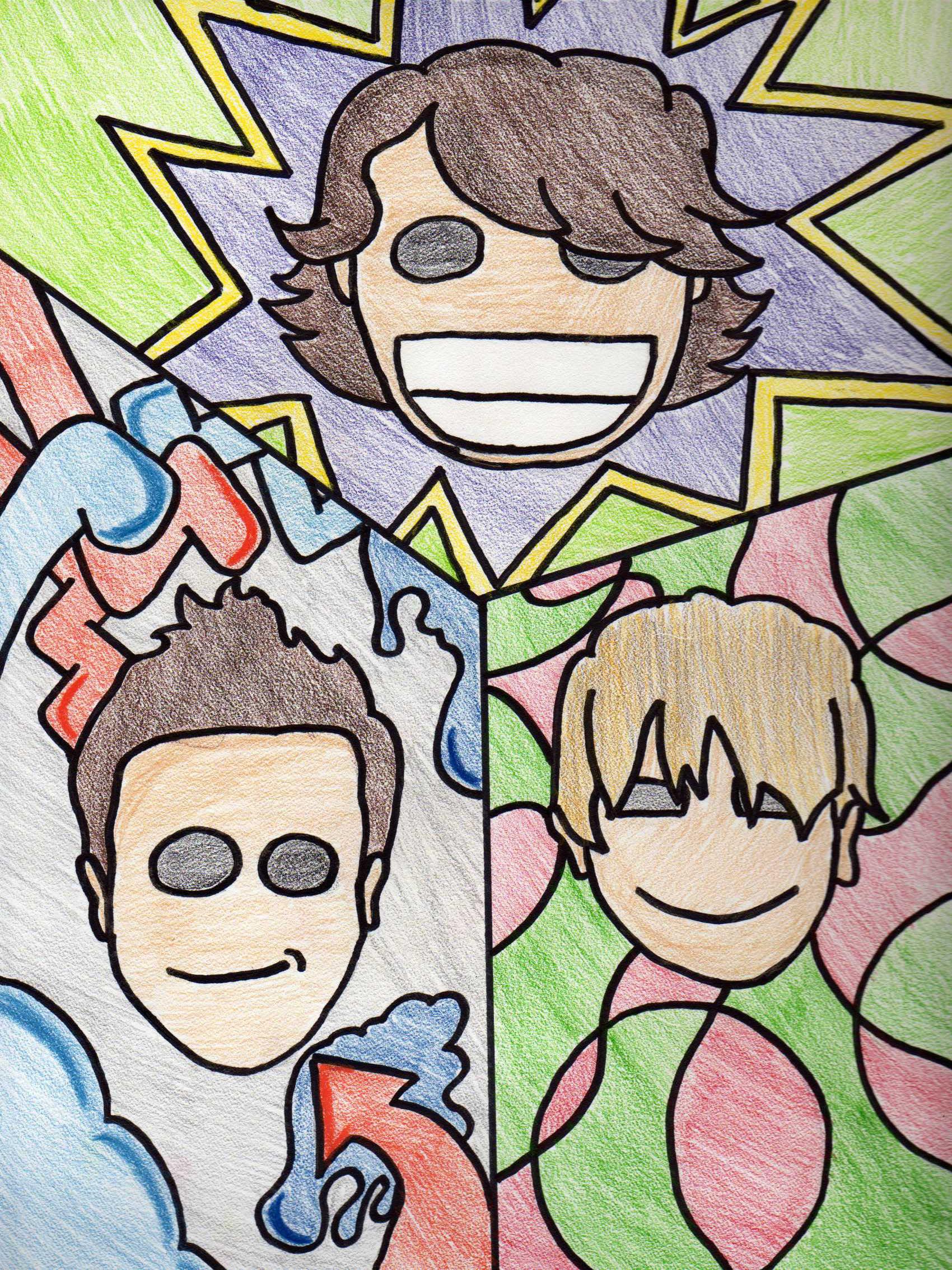 The Trimascular Trio