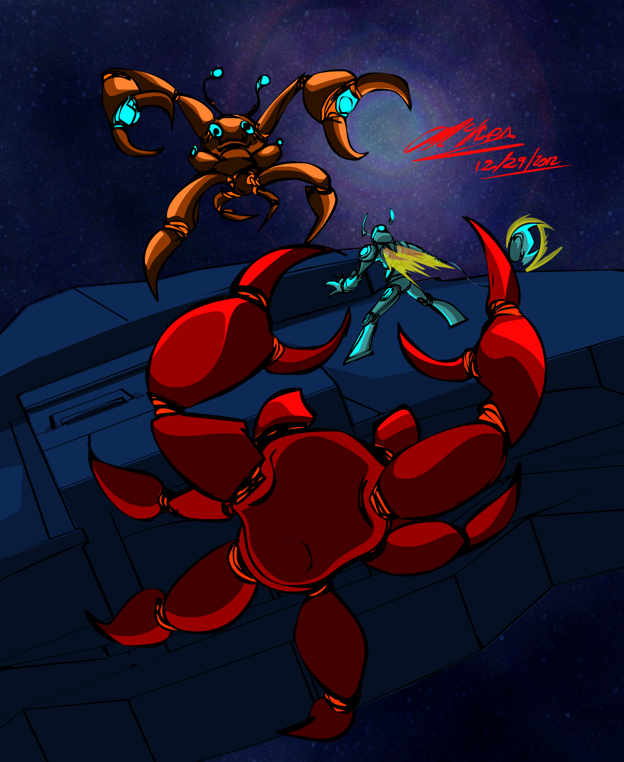 Space Crabs hate Space SHIPS