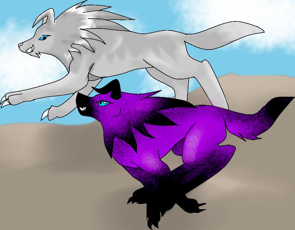 KuraiCabalos and GrayWolf