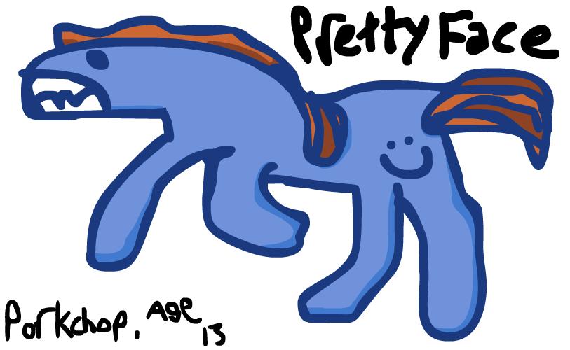 Pretty Face - Original Pony