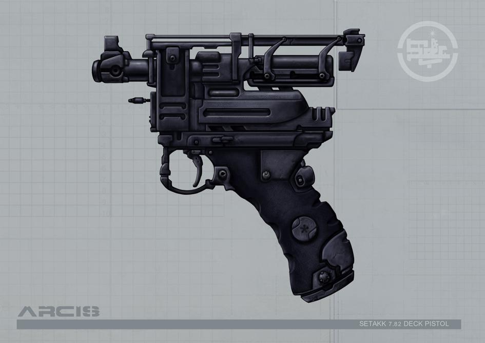 Arcis Setakk pistol concept