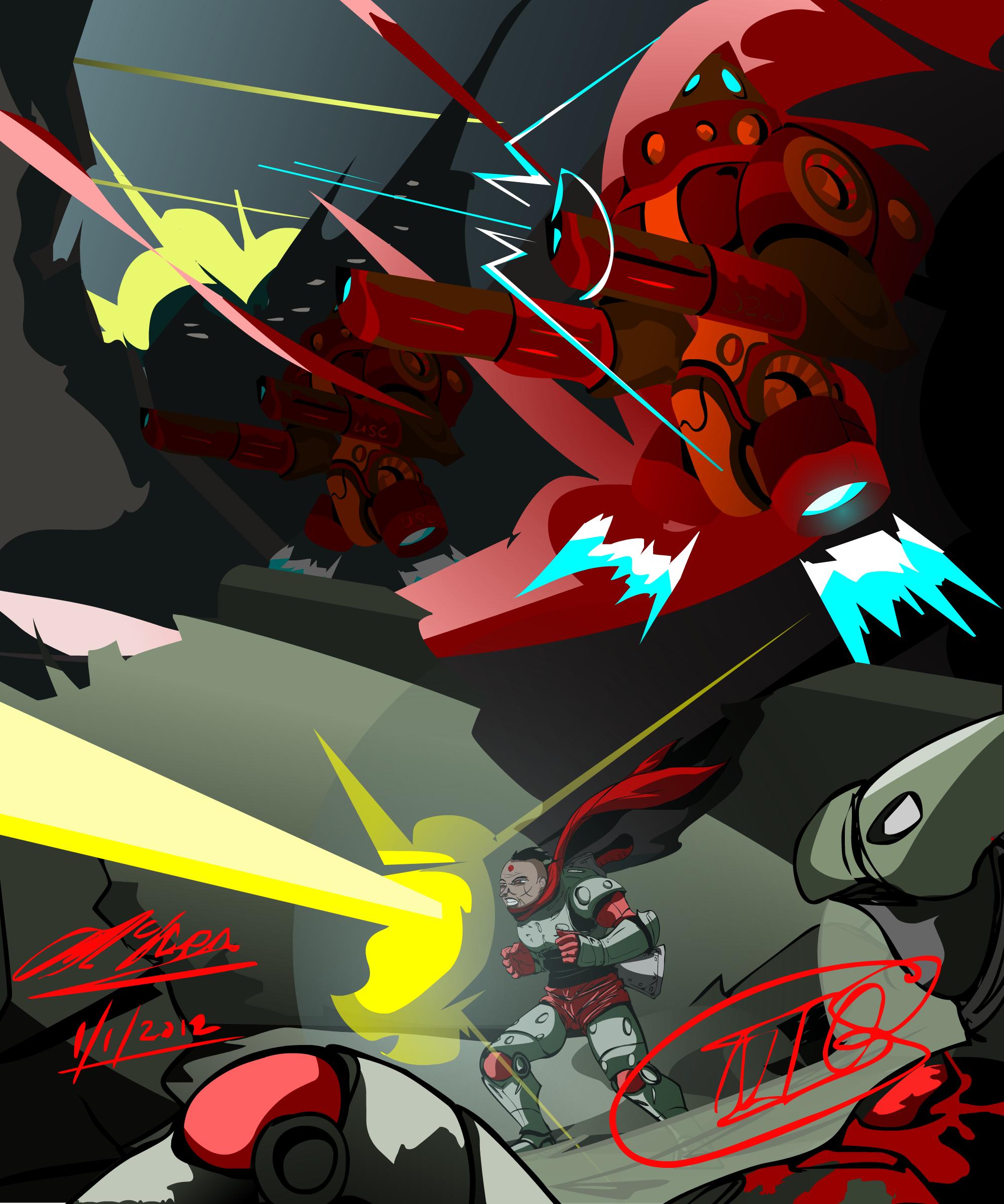 Ground Assault force-layout