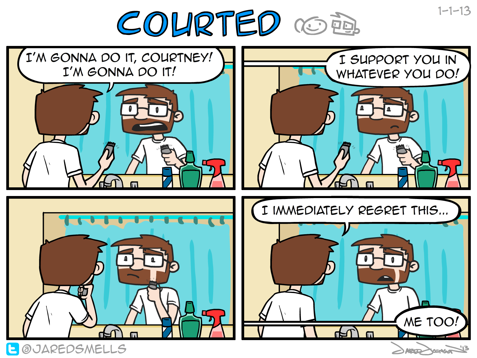 Courted, #1