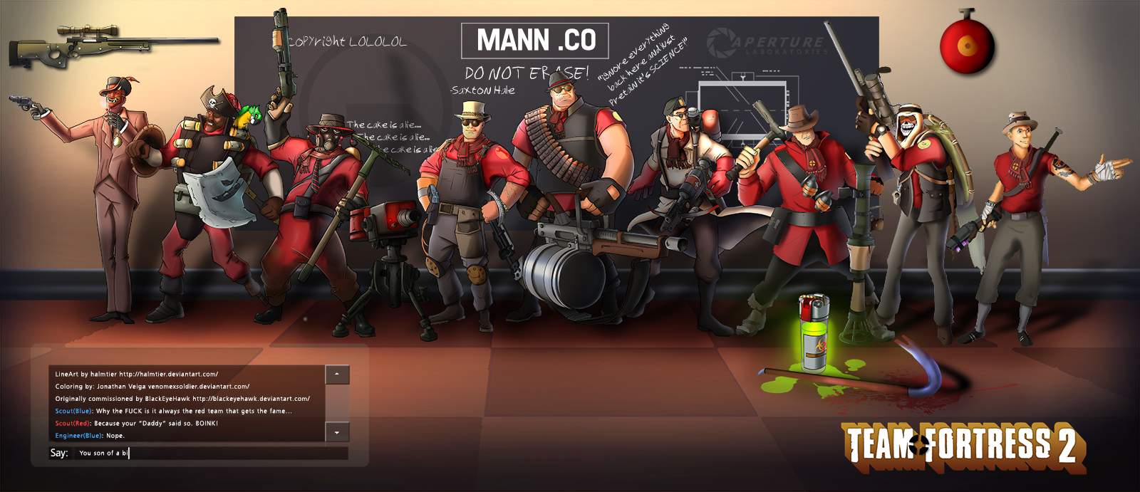 TeamFortress2 Coloring Contest