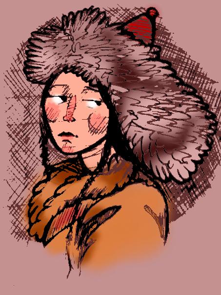 Mongol Lady