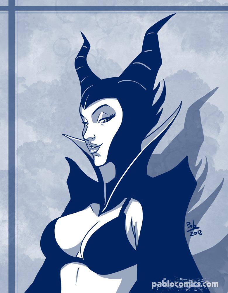 Maleficent's bra