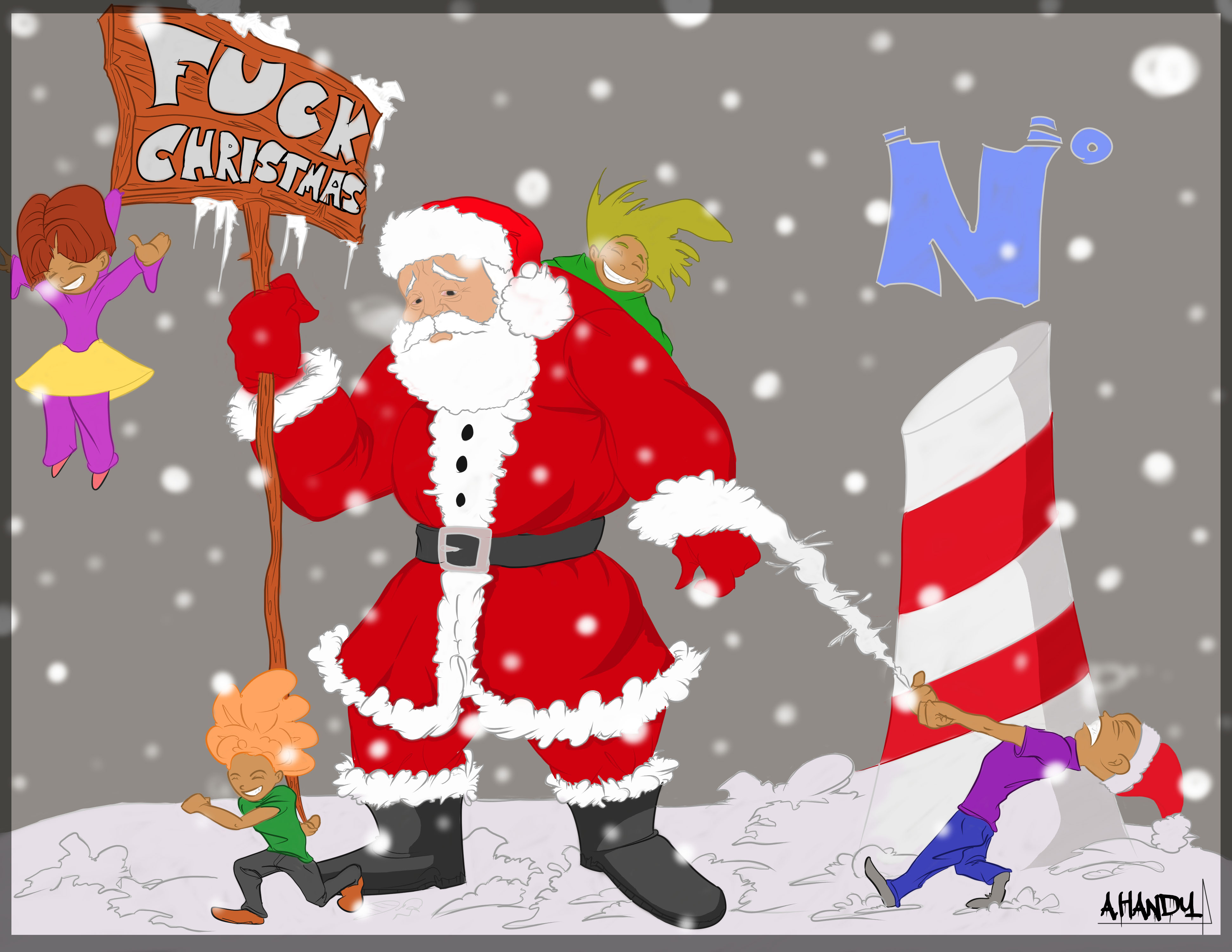 Santa Claus Reality