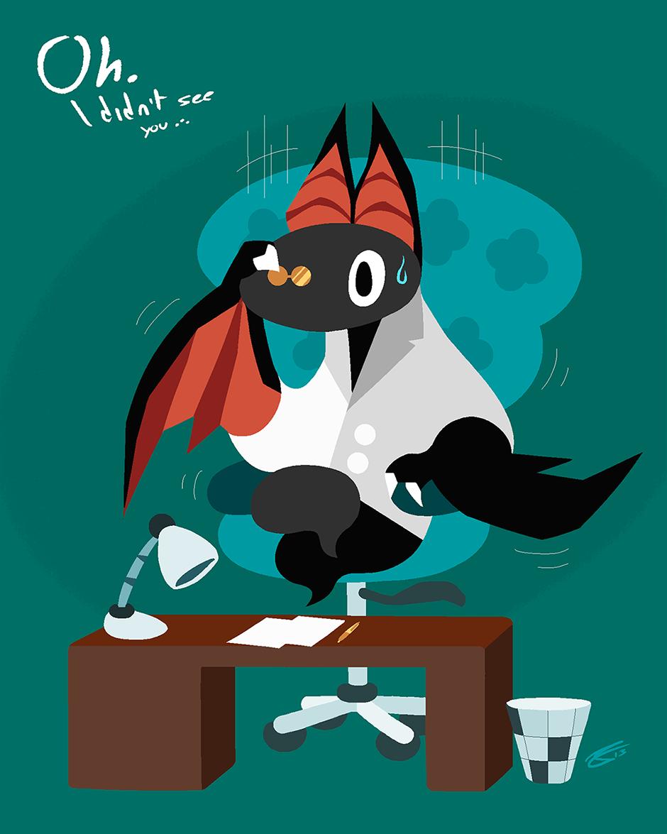Art Trade - Bat in Bata
