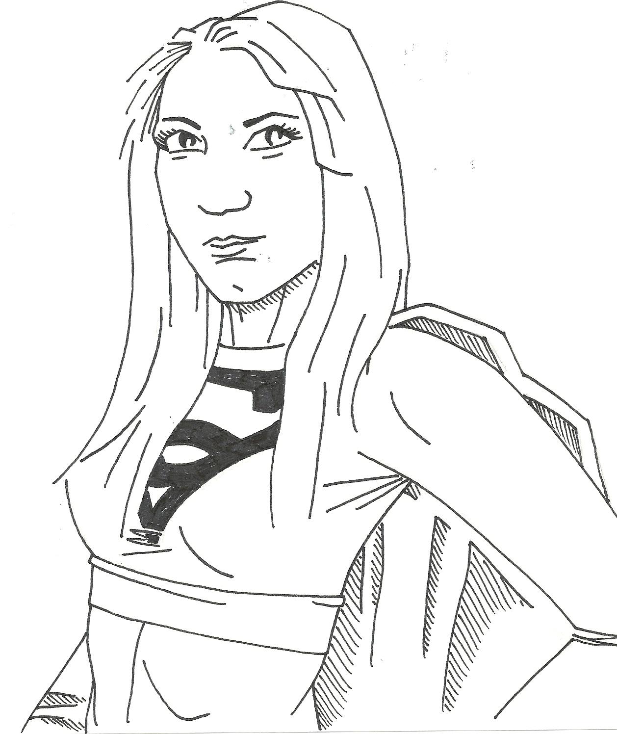 Supergirl Illustration #2