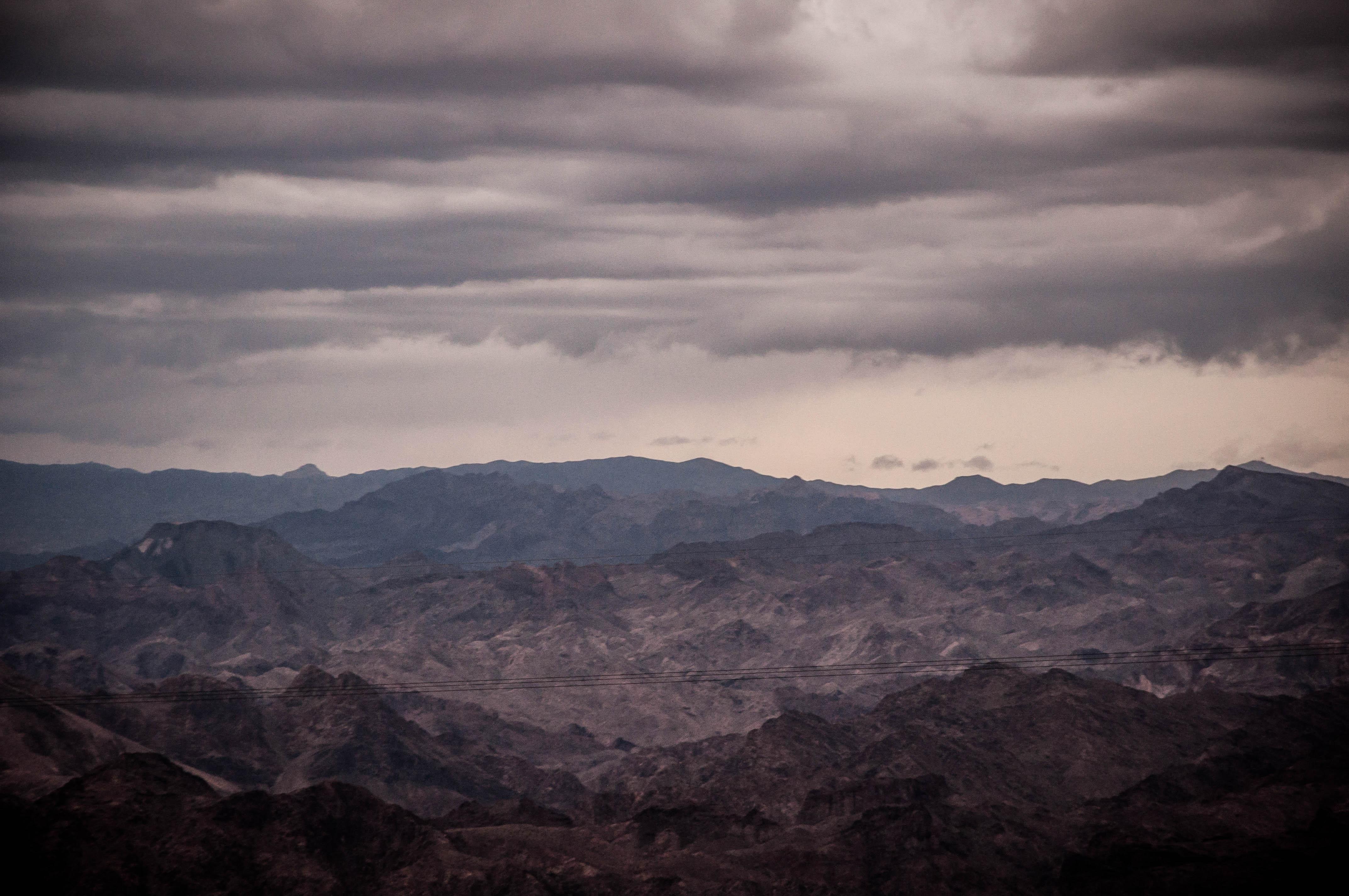 Overlooking the Desert