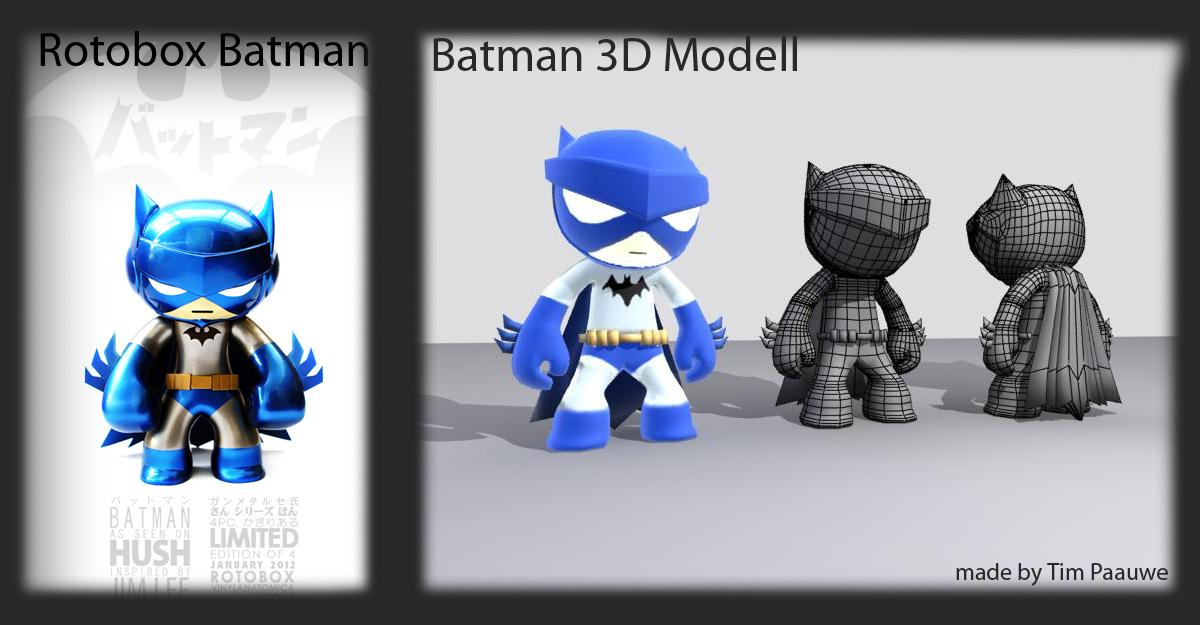 Batman 3D character :D