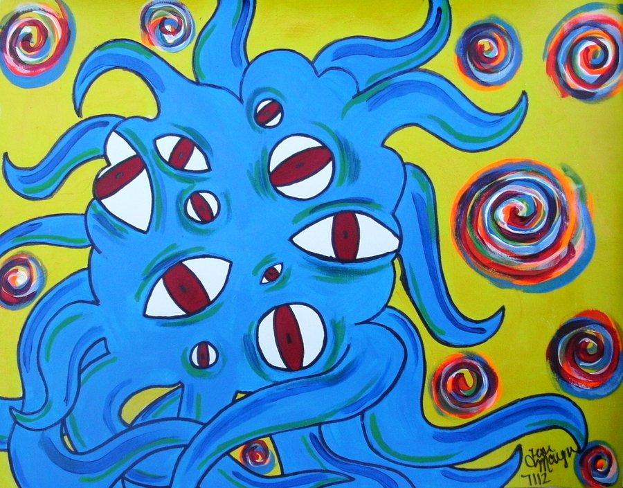 Eyeball Blob