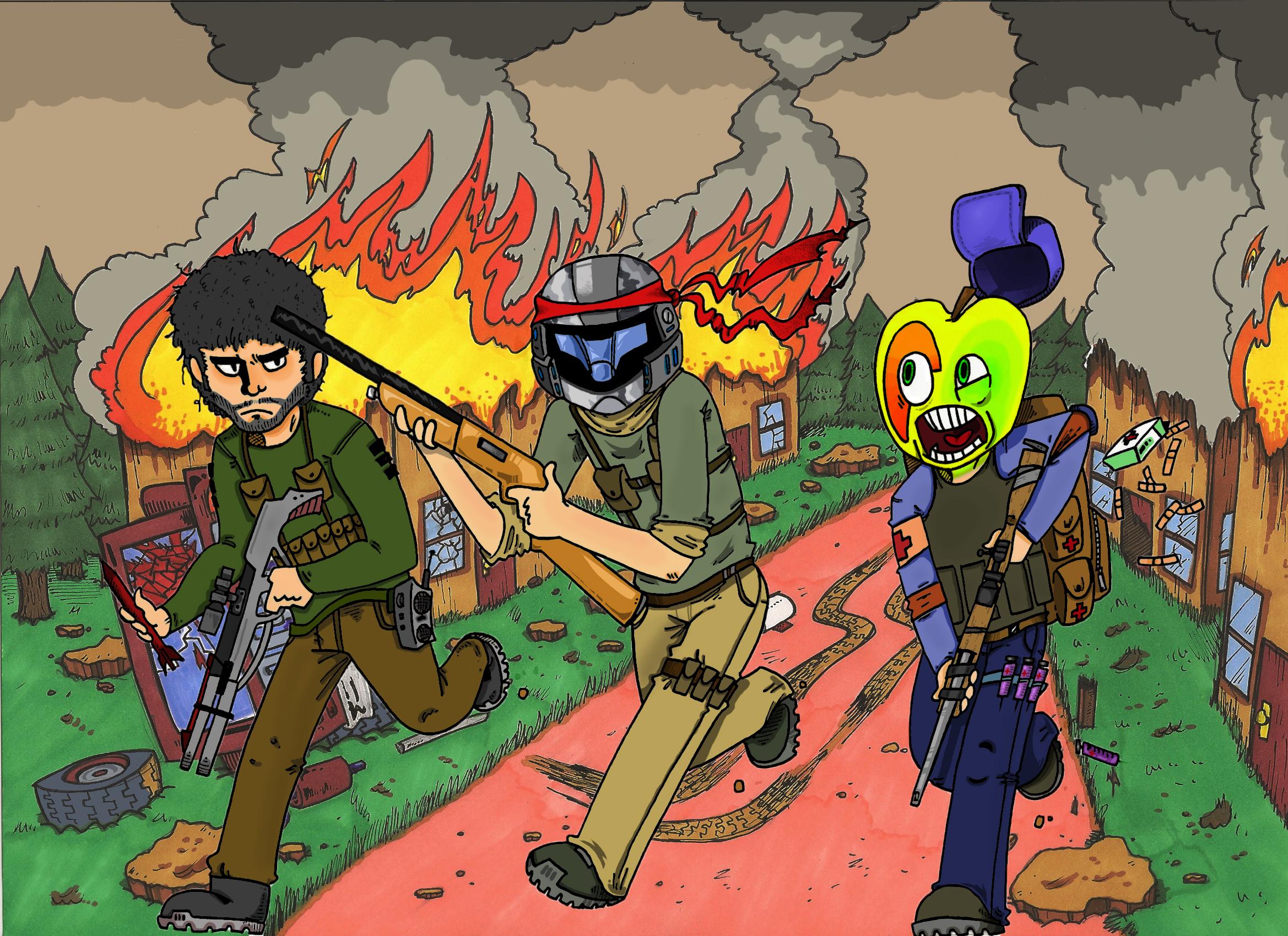 Uncanny Soldiers