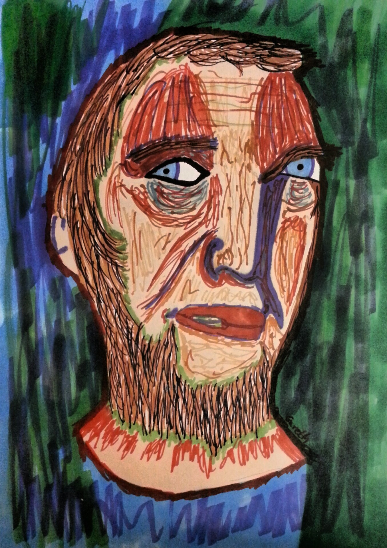 Self Portrait of Scoom