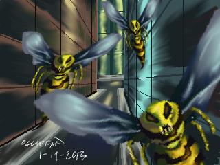 Alien Wasp Invasion