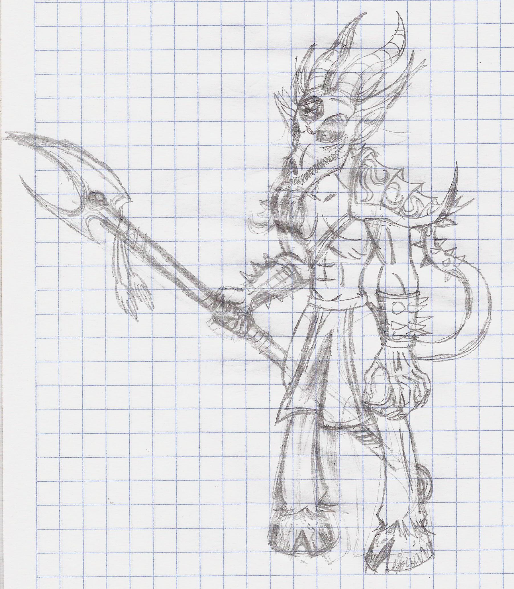 Demon Thing Sketch