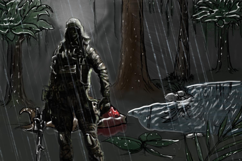 sniper in the night