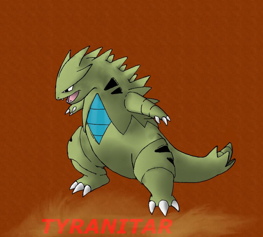 pokemon: tyranitar