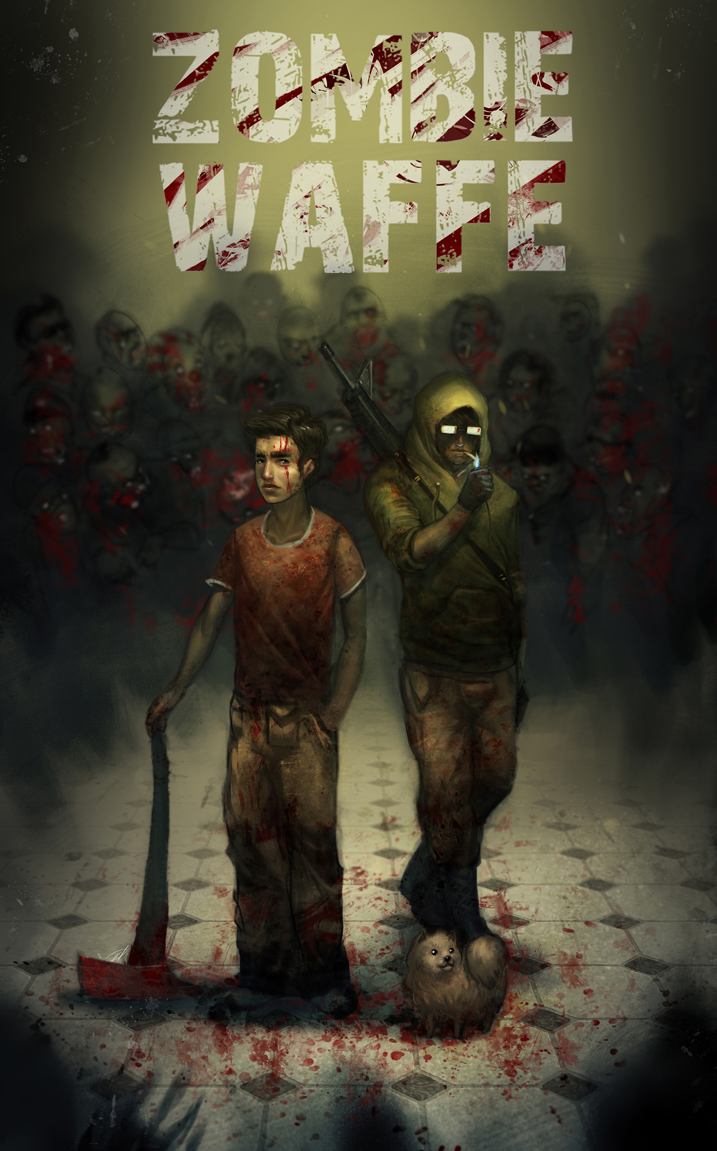 Zombie Waffe Poster
