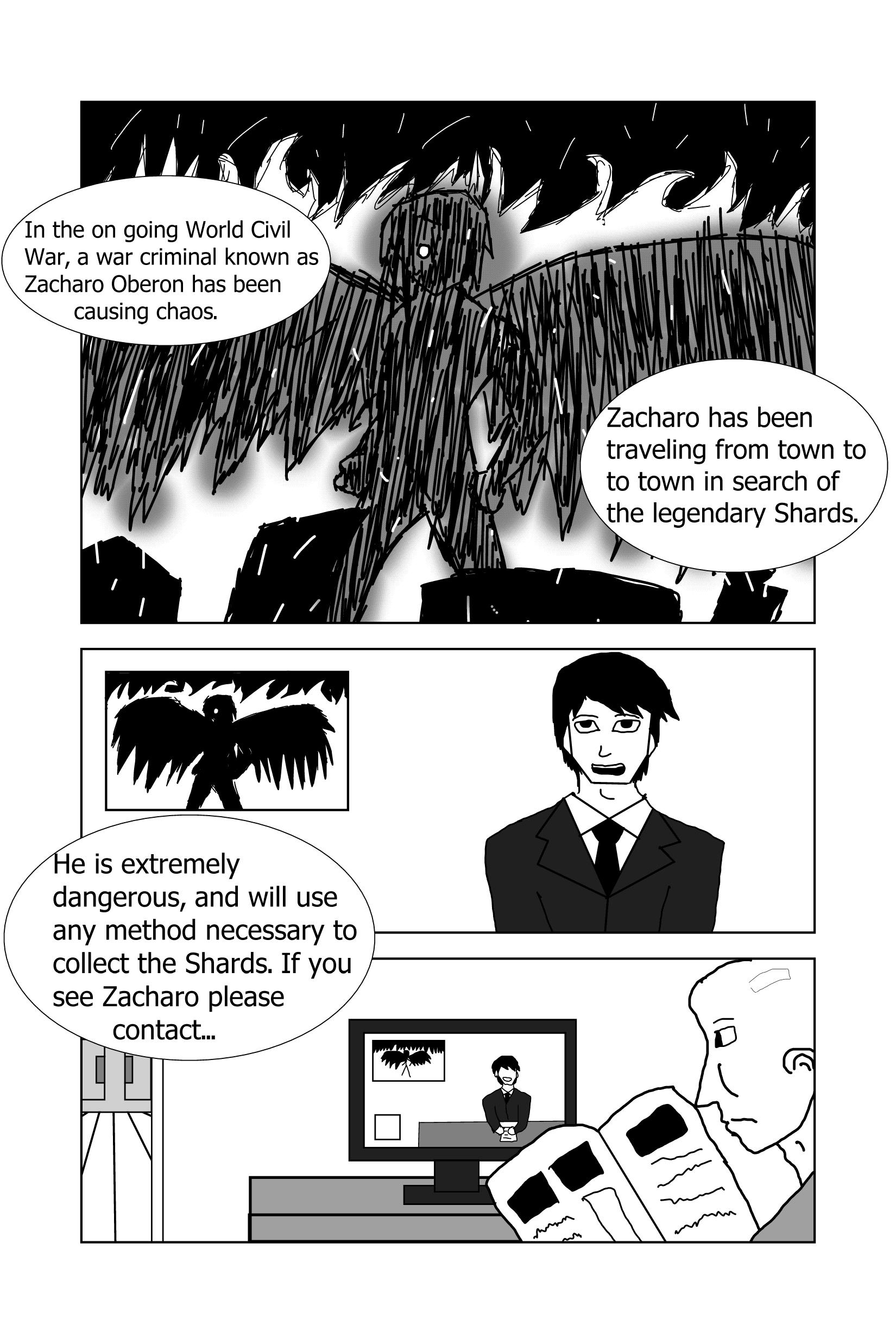 Fallen Guardian Angel page 1