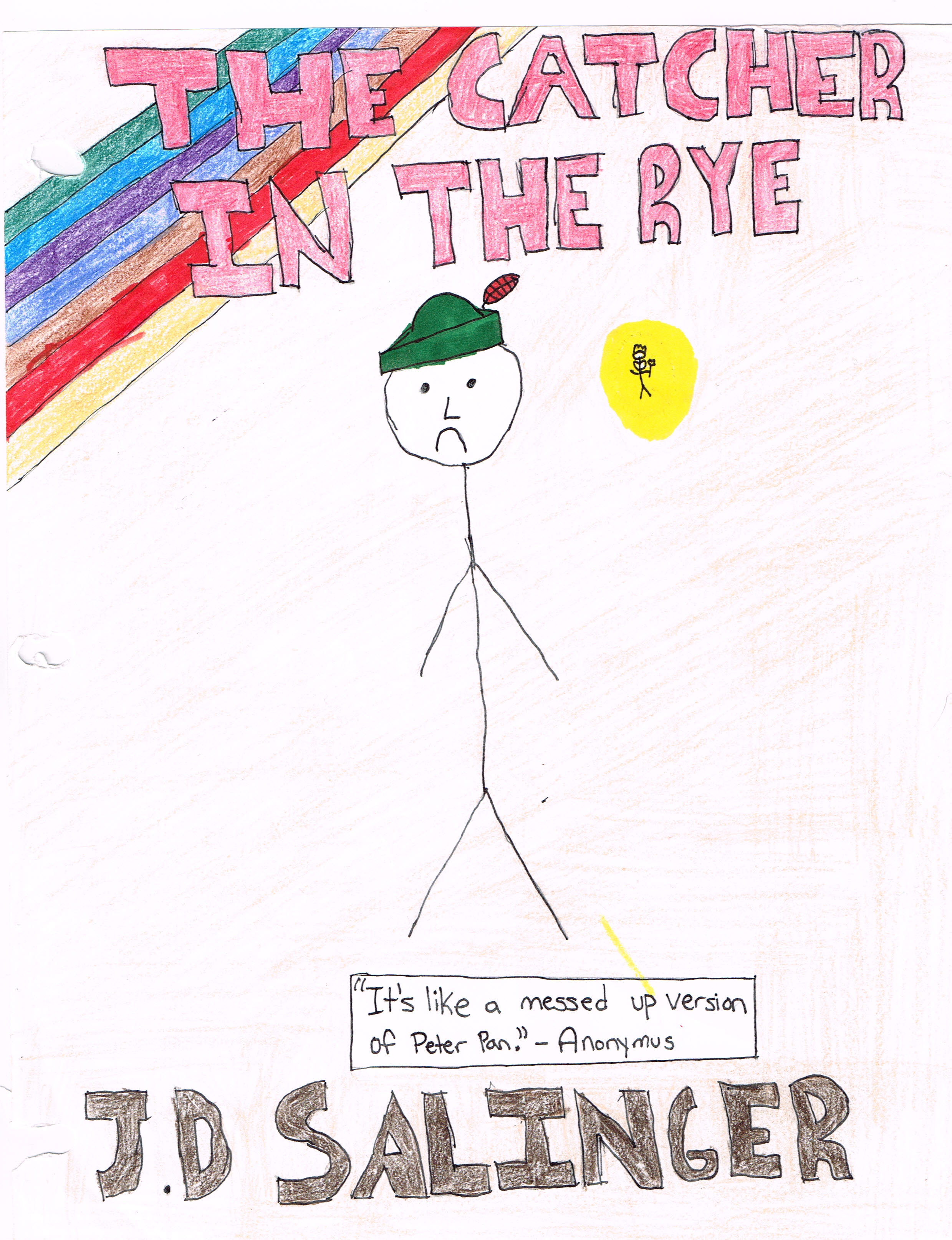 Catcher in the Rye Cover Page