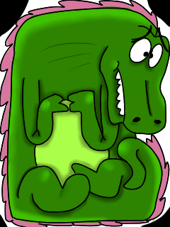 poor lil' dragon