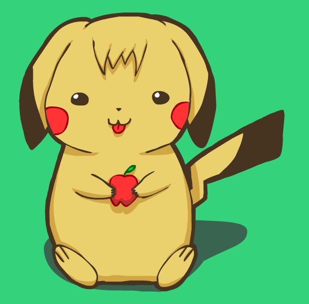 Pikachu Nom Nom
