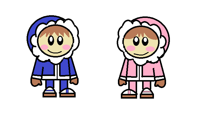 Me Drawing the Ice Climbers