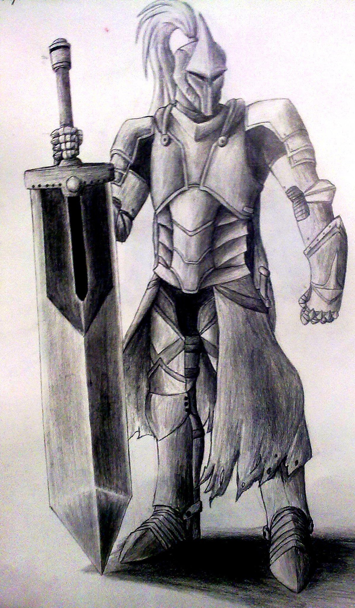 Knight Chess piece ilustration