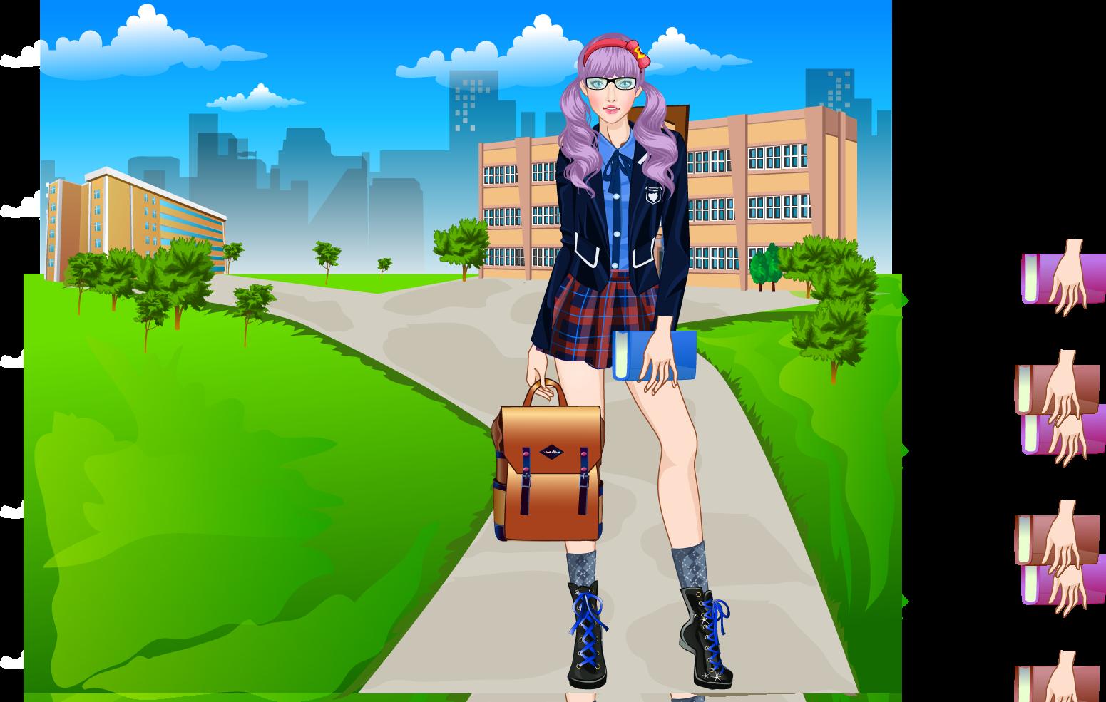 Snapshot of my dress up games