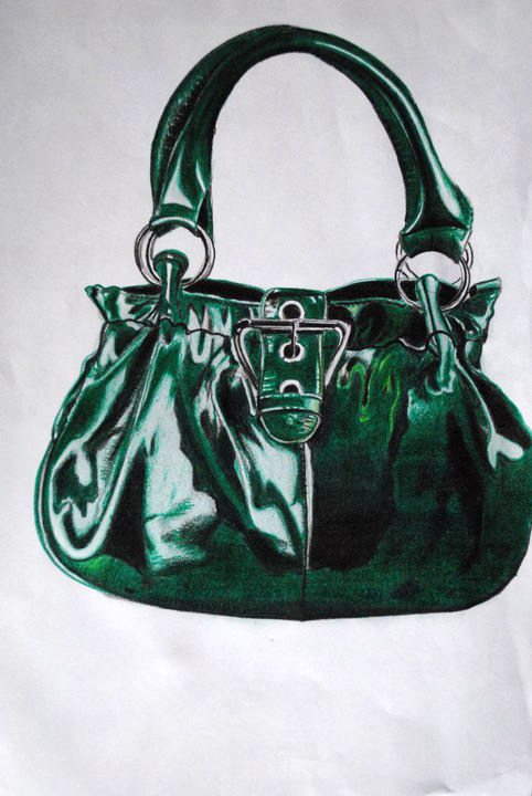 pencil color 'purse'